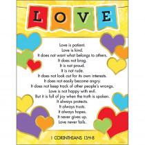 CD-114284 - Love Verses Chart in Motivational