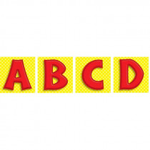 CD-119010 - Red Letters Quick Stick in Quick Stick