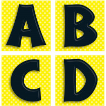 CD-119013 - Black Letters Quick Stick in Quick Stick