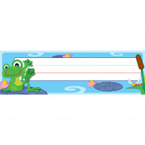 CD-119031 - Funky Frogs Desk Name Plates in Name Plates