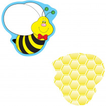 CD-120015 - Bees Mini Cutouts in Accents