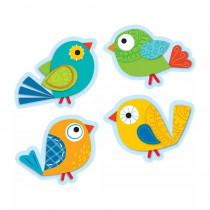 CD-120115 - Boho Birds Cut Outs in Accents
