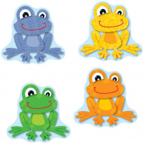 CD-120123 - Funky Frogs Cut Outs in Accents
