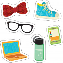CD-120218 - Hipster Gear Cut Outs in Accents