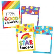 CD-120539 - Celebrate Colorful Reward Tags Learning Mini Cutouts in Badges