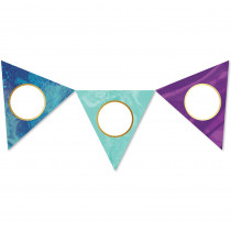 CD-120573 - Galaxy Pennants Cut-Outs in Accents