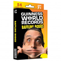 CD-134049 - Guinness World Records Baffling Bodies Fact Cards in Human Anatomy