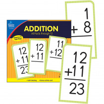 CD-134053 - Addition Facts Thru 12 Flash Cards in Flash Cards