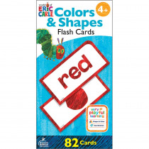 World of Eric Carle Colors & Shapes Flash Cards - CD-134059 | Carson Dellosa Education | Resources