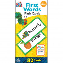 World of Eric Carle First Words Flash Cards - CD-134060 | Carson Dellosa Education | Resources