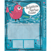 CD-136000 - Substitute Teacher Folder Song Bird in Substitute Teachers