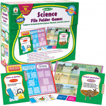 CD-140045 - Games Science File Folder Skill Building Center Activities Gr 2-3 in Science