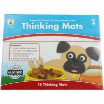 CD-140340 - Center Solutions Thinking Mats Gr 2 in Learning Centers