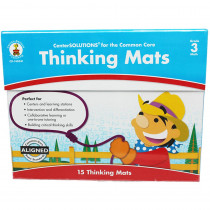 CD-140341 - Center Solutions Thinking Mats Gr 3 in Learning Centers