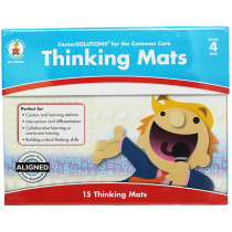 CD-140342 - Center Solutions Thinking Mats Gr 4 in Learning Centers