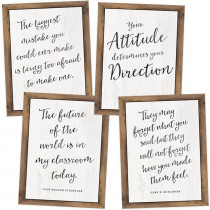 CD-145085 - Industrial Chic Poster Set in Motivational