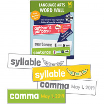 CD-145115 - Language Arts Word Wall Gr 1 in Sight Words