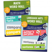 CD-145123 - Word Wall Set For Gr 1 in Sight Words