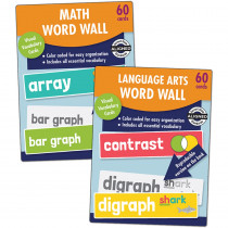 CD-145124 - Word Wall Set For Gr 2 in Sight Words