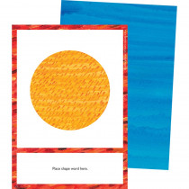 World of Eric Carle Shapes Learning Cards - CD-145134 | Carson Dellosa Education | Resources