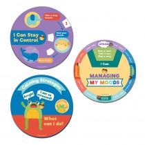 EZ-Spin: Calming Wheels Manipulative, Pack of 18 - CD-146030 | Carson Dellosa Education | Self Awareness