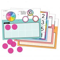 Edu-Clings Silicone Center: Ten Frames - CD-146031   Carson Dellosa Education   Manipulative Kits