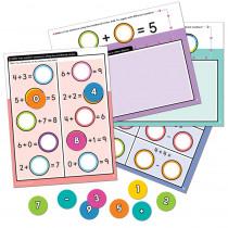 Edu-Clings Silicone Center: Number Sentences - CD-146032   Carson Dellosa Education   Manipulative Kits
