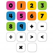 Edu-Clings Silicone Set: Numbers & Operations Manipulative - CD-146045   Carson Dellosa Education   Manipulative Kits
