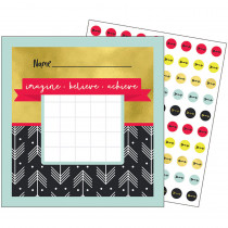 CD-148035 - Aim High Mini Chart Gr Pk-5 Incentive in Incentive Charts