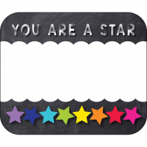 CD-150065 - Stars You Are A Star Name Tags School Girl Style in Name Tags