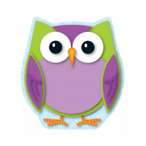 CD-151065 - Colorful Owl in Note Pads