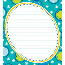 CD-151068 - Bubbly Blues Notepad in Note Books & Pads