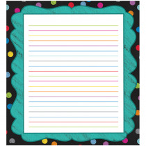 CD-151077 - Colorful Chalkboard Notepads Gr Pk-8 in Note Pads
