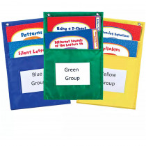 CD-158038 - Center Organizers Pocket Charts in Pocket Charts