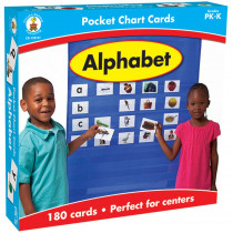 CD-158151 - Alphabet Pocket Charts Gr Pk-K in Pocket Charts