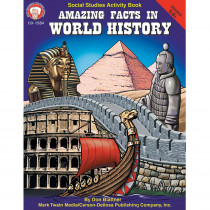 CD-1584 - Amazing Facts In World History Gr 5-8& Up in History