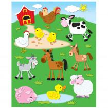 CD-168020 - Farm Shape Stickers 72Pk in Stickers