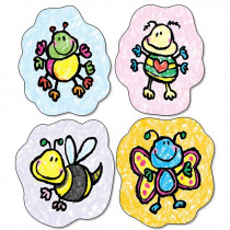 CD-168097 - Bees Bugs & More Stickers in Stickers