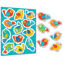 CD-168120 - Boho Birds Shape Stickers in Stickers
