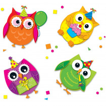CD-168145 - Celebrate With Colorful Owls in Stickers