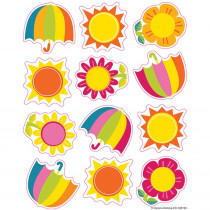 CD-168193 - Spring Showers & Sun Shape Stickers in Holiday/seasonal