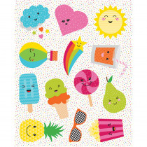 CD-168206 - School Pop Shape Stickers in Stickers