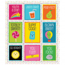 CD-168208 - School Pop Prize Pack Stickers in Stickers