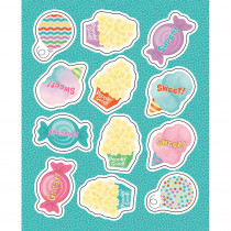 CD-168241 - Treats Shape Stickers Gr Pk-5 in Stickers