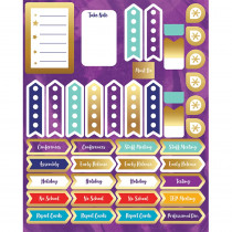 CD-168273 - Galaxy Planner Accents Sticker Pack in Stickers