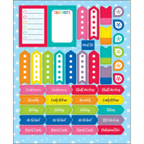 Hello Sunshine Planner Accents Sticker Pack, 252 Stickers - CD-168283 | Carson Dellosa Education | Stickers