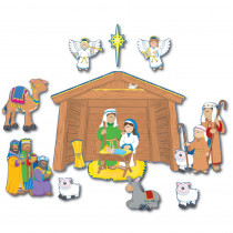 CD-1750 - Bulletin Board Set Nativity in Inspirational