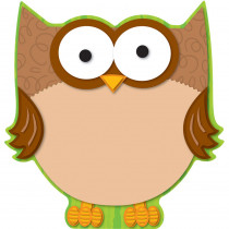 CD-188019 - Owl Two Sided Decorations in Two Sided Decorations