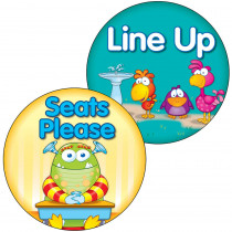 CD-188055 - Line Up Seats Please Two Sided Decorations in Two Sided Decorations