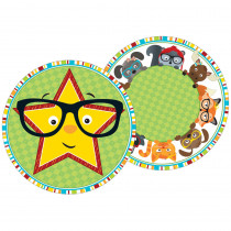 CD-188068 - Hipster Two Sided Decoration in Two Sided Decorations